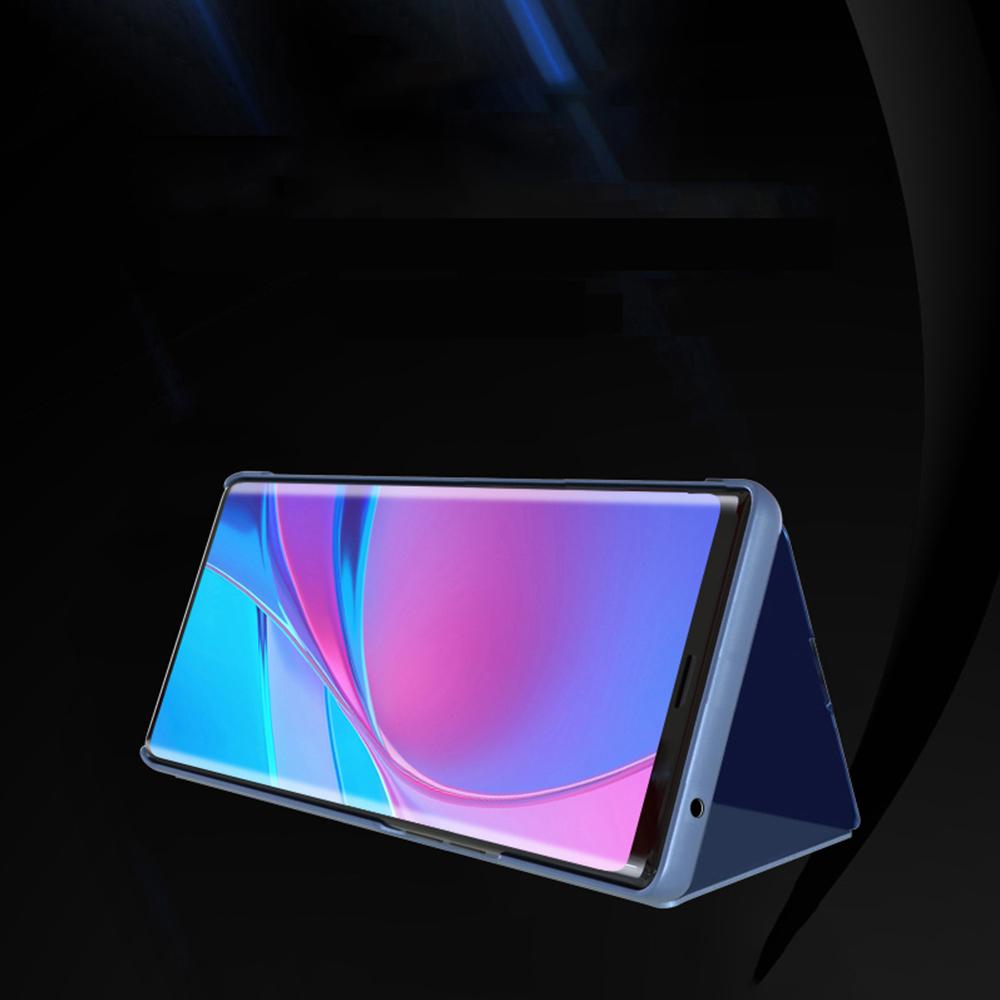 Pokrowiec Smart Clear View czarny Xiaomi Mi Note 10 Lite / 5
