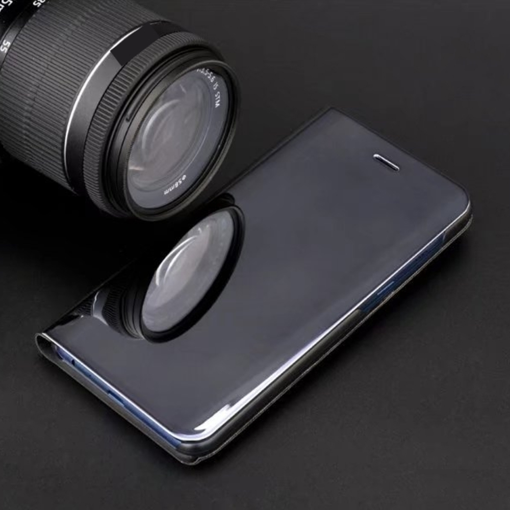 Pokrowiec Smart Clear View czarny Xiaomi Mi Note 10 Lite / 6