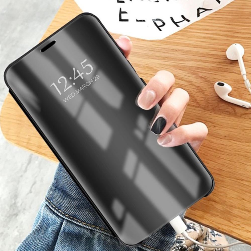 Pokrowiec Smart Clear View czarny Xiaomi Mi Note 10 Lite / 7