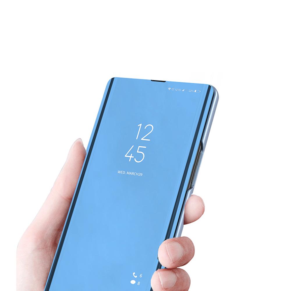 Pokrowiec Smart Clear View niebieski Xiaomi Redmi Note 9 / 3