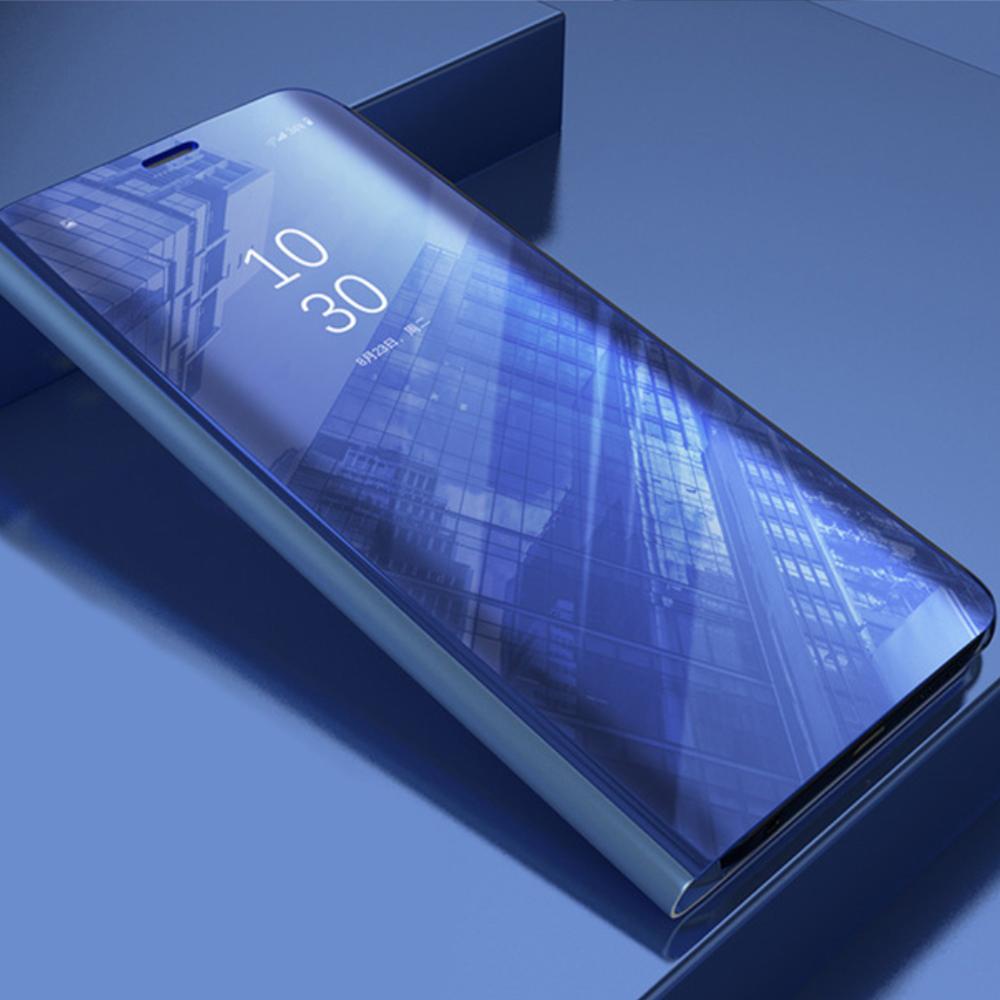 Pokrowiec Smart Clear View niebieski Xiaomi Redmi Note 9 / 5
