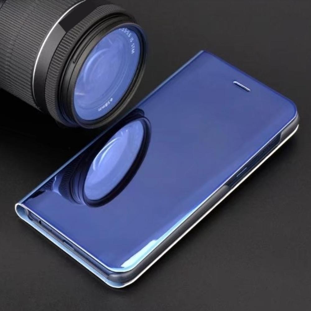 Pokrowiec Smart Clear View niebieski Xiaomi Redmi Note 9 / 6