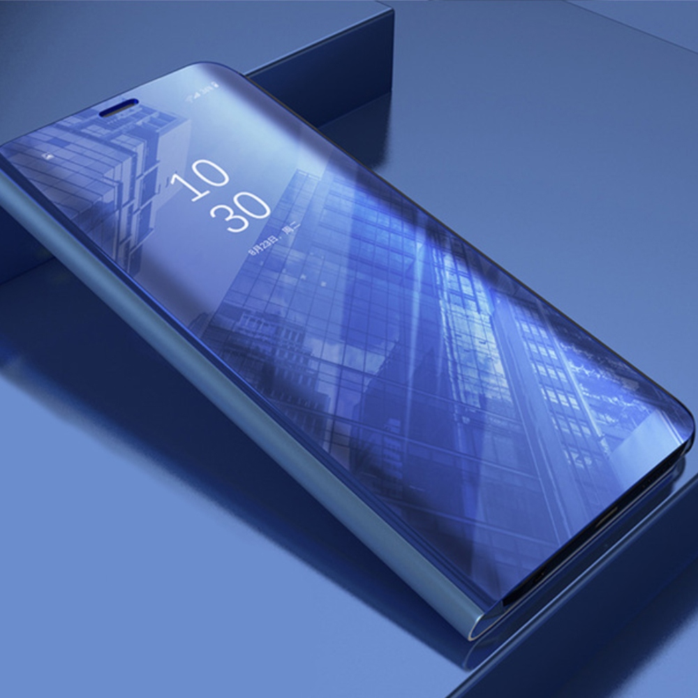 Pokrowiec Smart Clear View niebieski Samsung A32 / 5