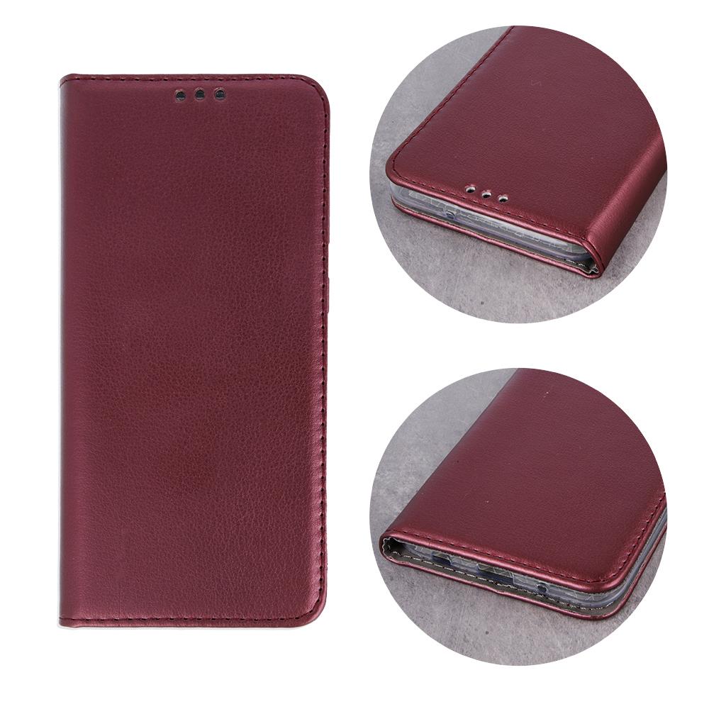 Pokrowiec Smart Magnetic do Samsung A80 / A90 burgundowy Samsung Galaxy A80 / 3