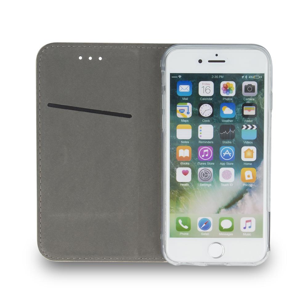 Pokrowiec Smart Magnetic do Samsung A80 / A90 burgundowy Samsung Galaxy A80 / 5