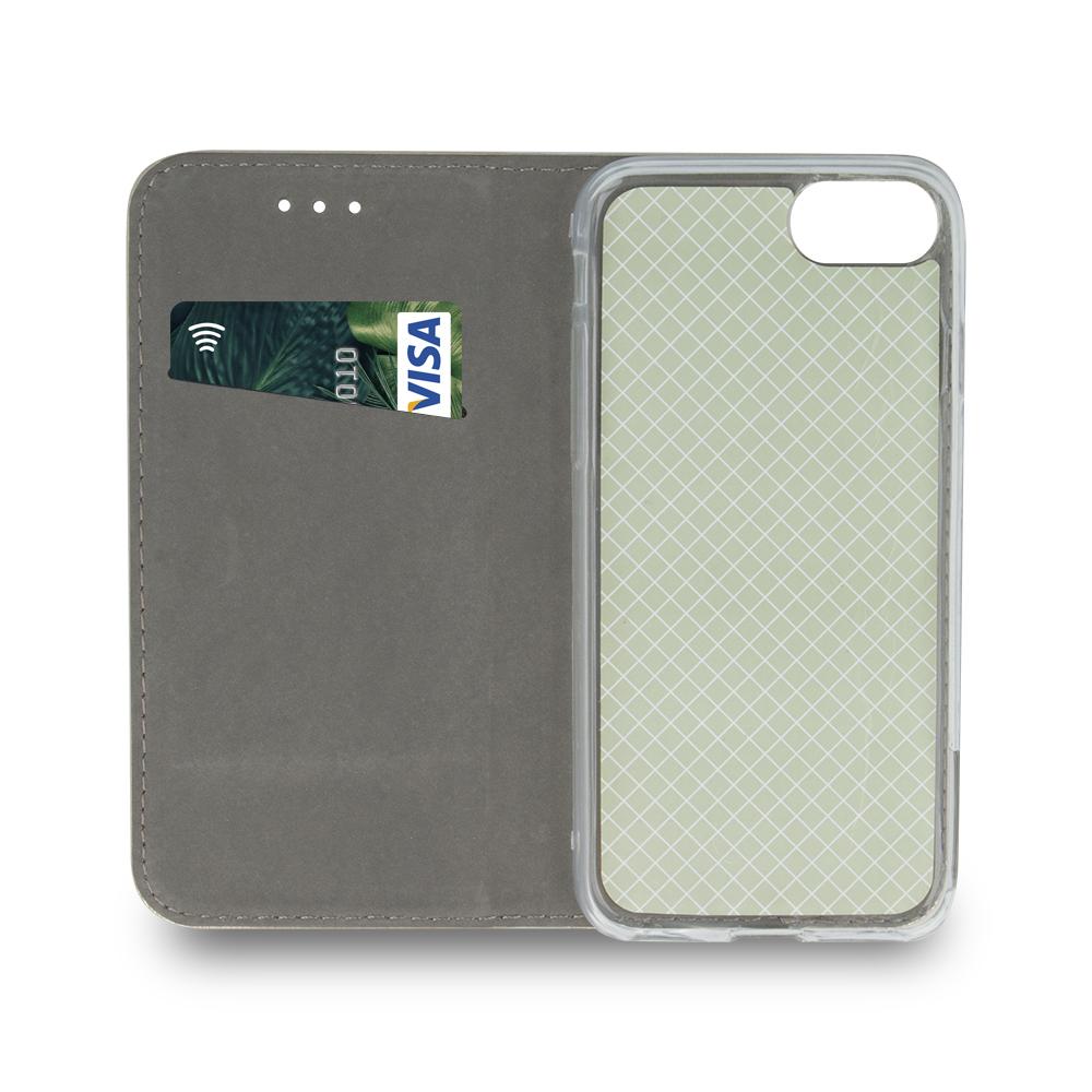 Pokrowiec Smart Magnetic do Samsung A80 / A90 burgundowy Samsung Galaxy A80 / 6