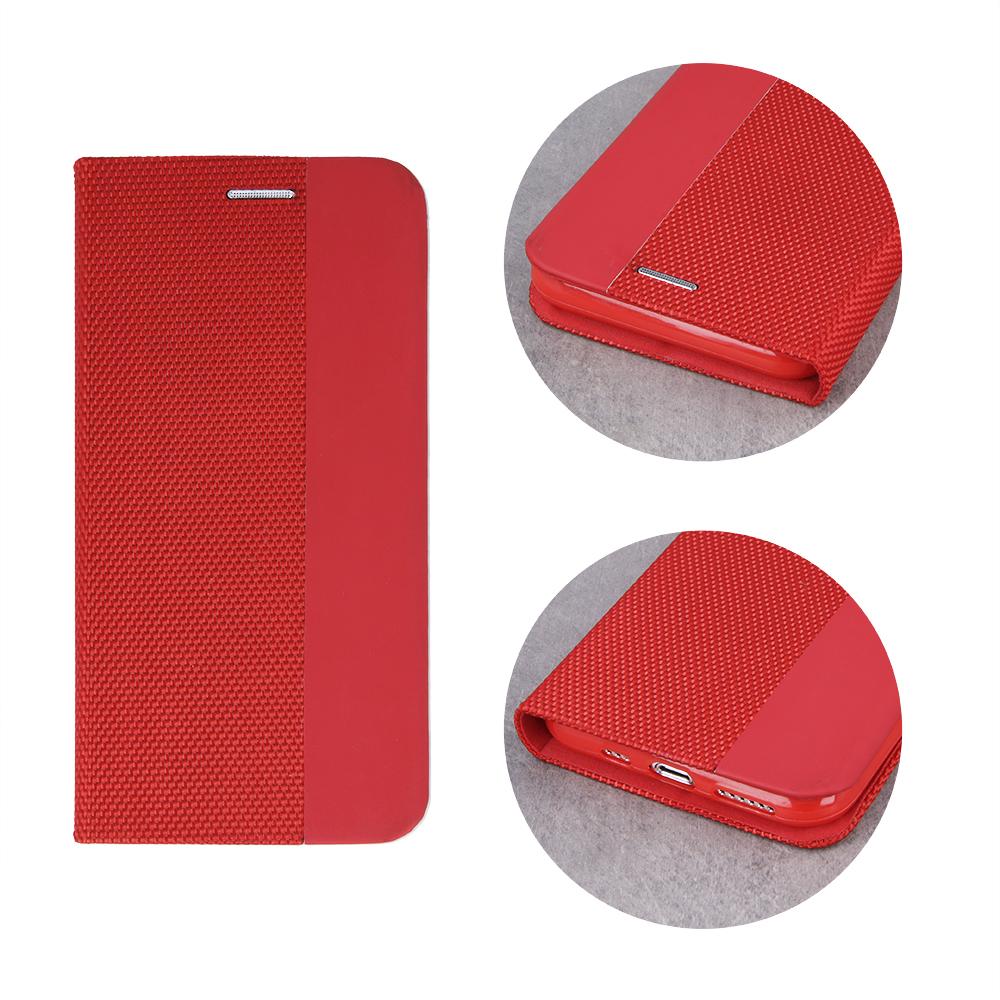 Pokrowiec Smart Senso do Samsung A80 / A90 czerwony Samsung Galaxy A80 / 3