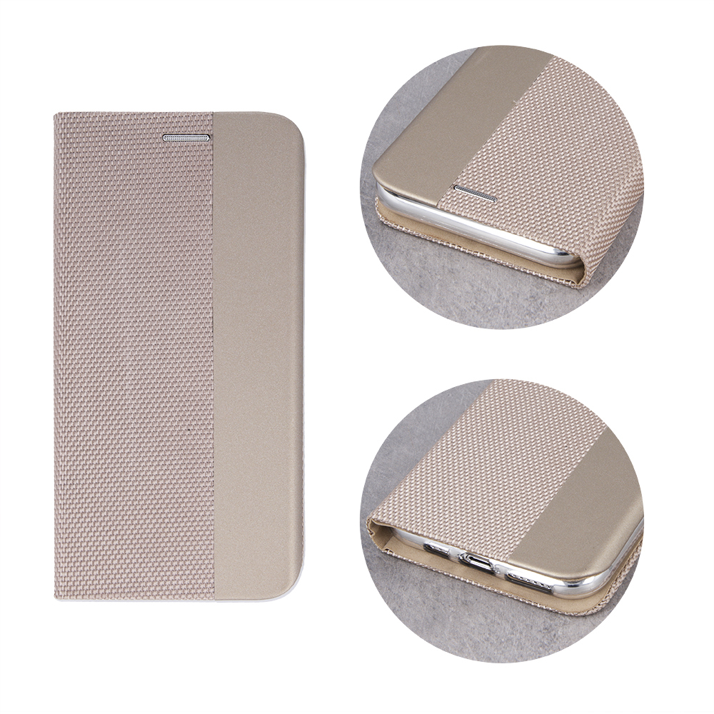Pokrowiec Smart Senso do Samsung A80 / A90 złoty Samsung Galaxy A80 / 3