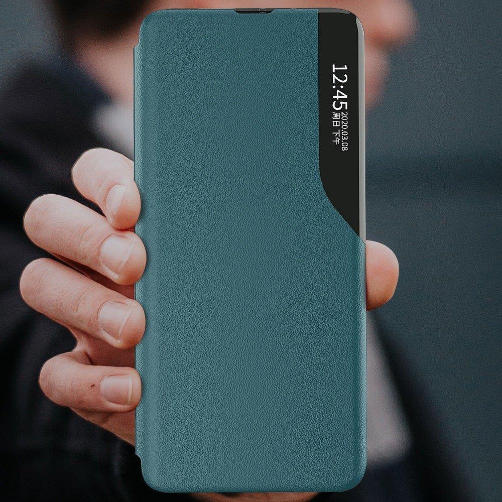 Pokrowiec Smart View Flip Cover niebieski Samsung Galaxy A71 / 10