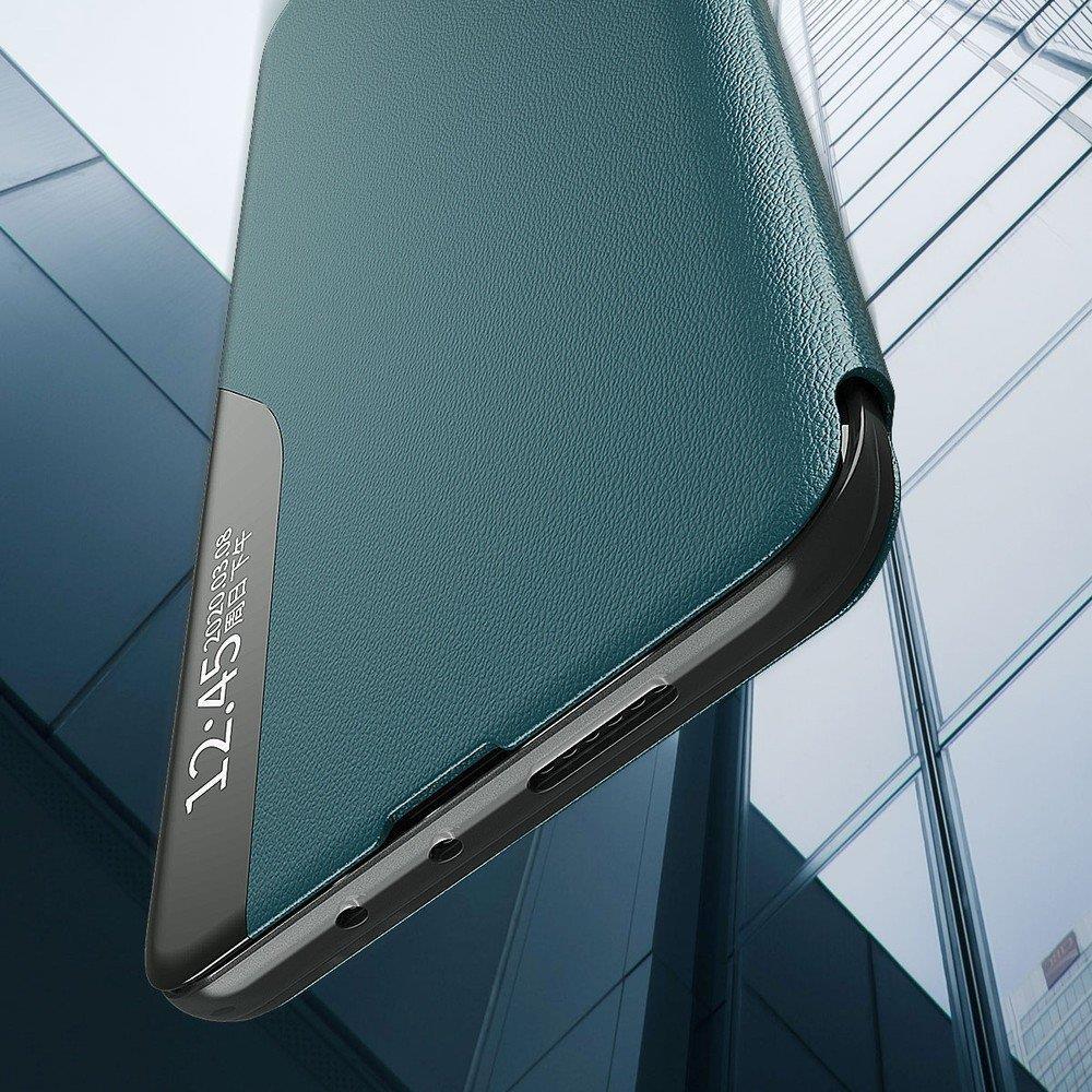 Pokrowiec Smart View Flip Cover niebieski Samsung Galaxy A71 / 4
