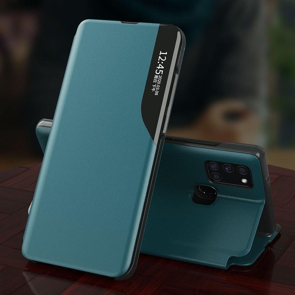Pokrowiec Smart View Flip Cover niebieski Samsung Galaxy A71 / 6