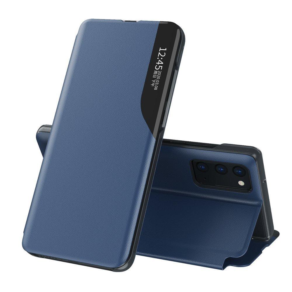 Pokrowiec Smart View Flip Cover niebieski Samsung Galaxy S20 FE 5G