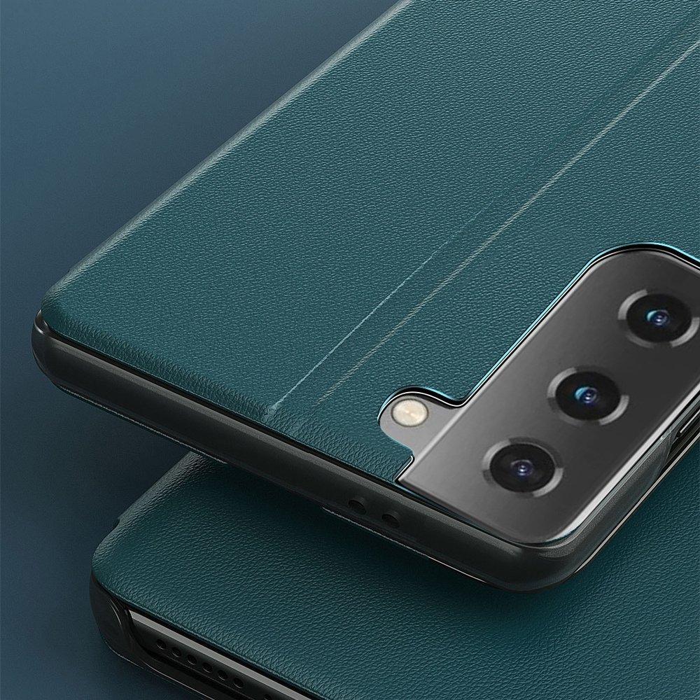Pokrowiec Smart View Flip Cover niebieski Samsung Galaxy S21 5G / 10
