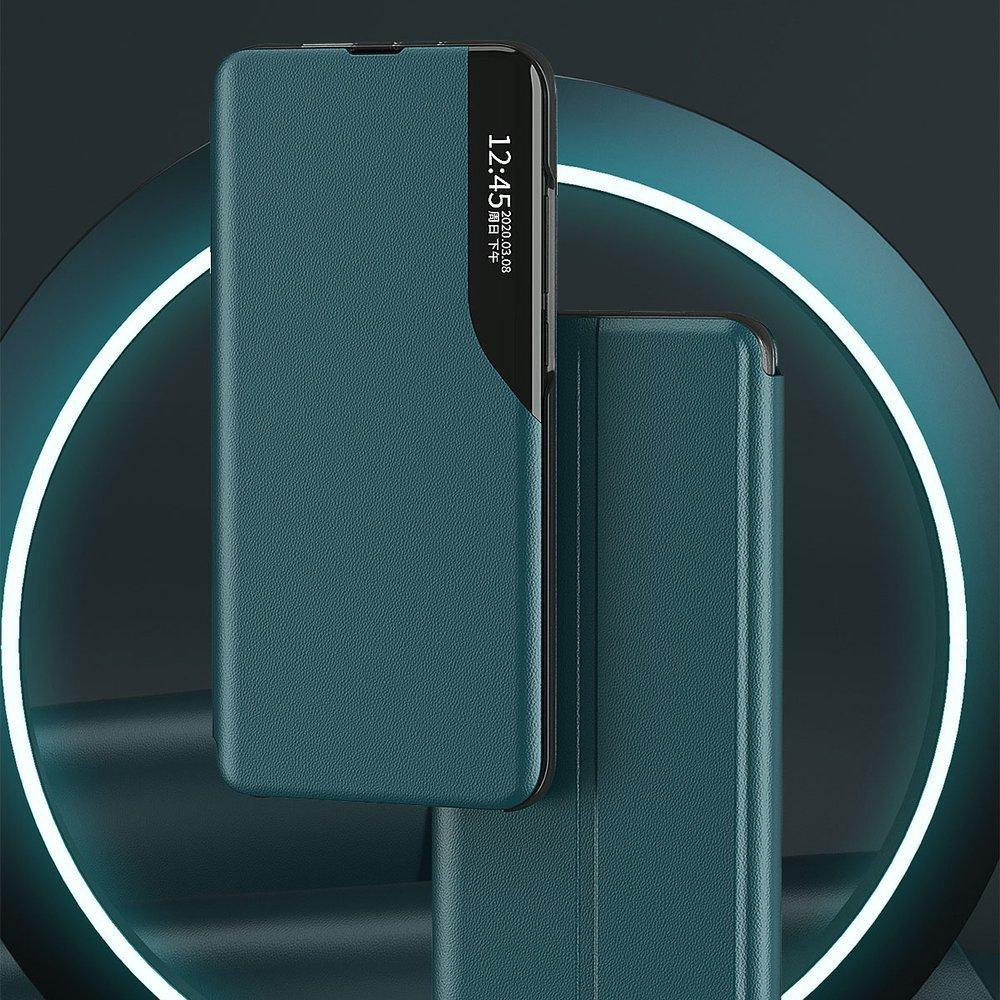 Pokrowiec Smart View Flip Cover niebieski Samsung Galaxy S21 5G / 4