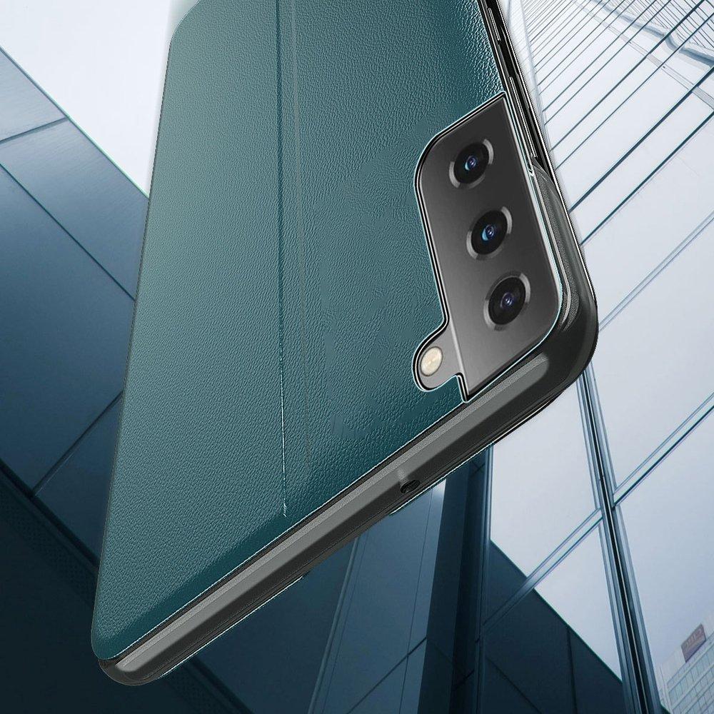 Pokrowiec Smart View Flip Cover niebieski Samsung Galaxy S21 5G / 5