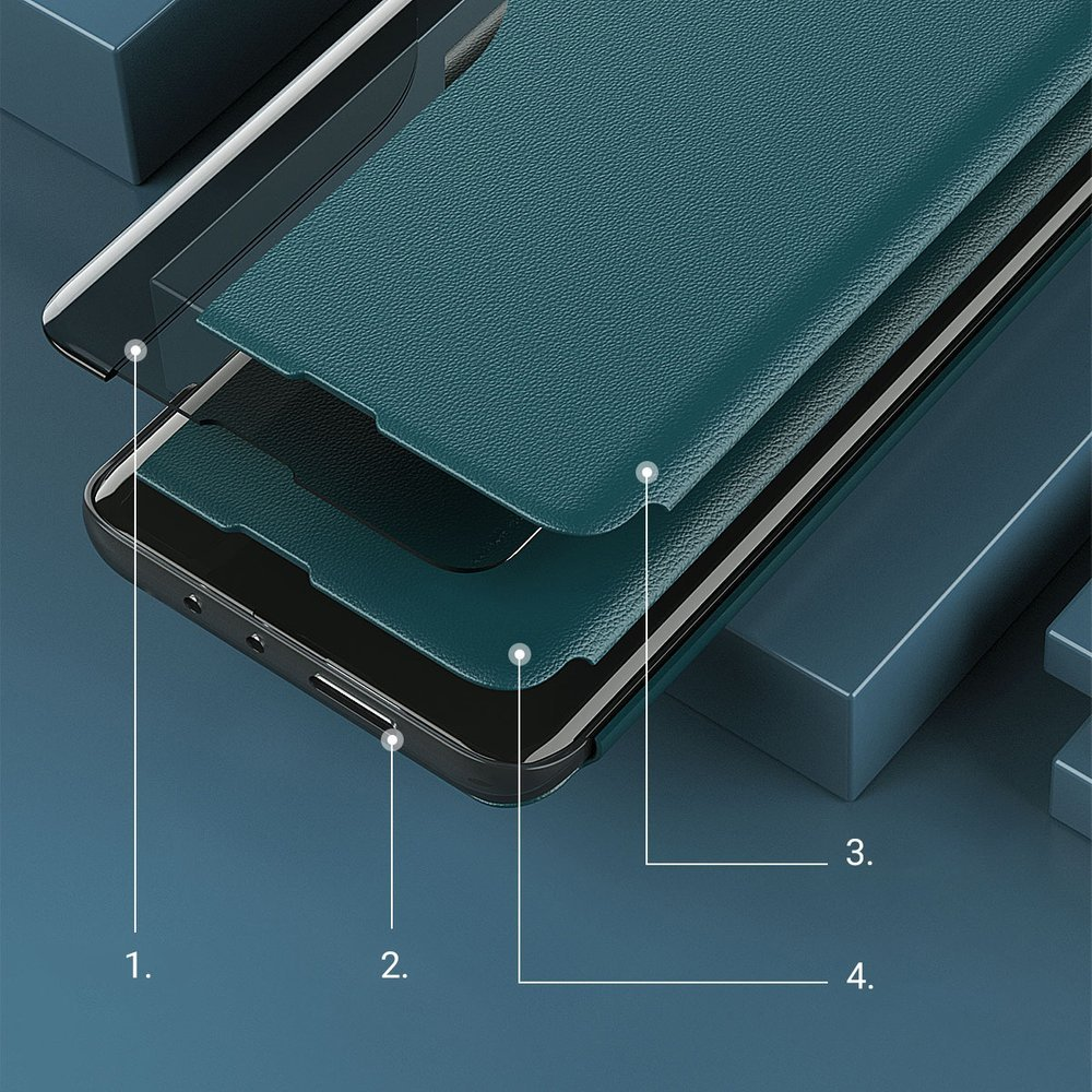 Pokrowiec Smart View Flip Cover niebieski Xiaomi Mi 11 Lite 5G / 11