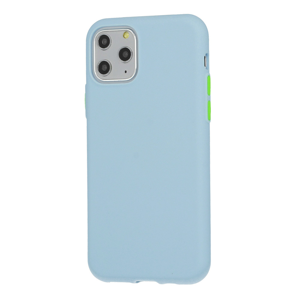 Pokrowiec Solid Silicone Case niebieski Samsung Galaxy S7 Edge / 2