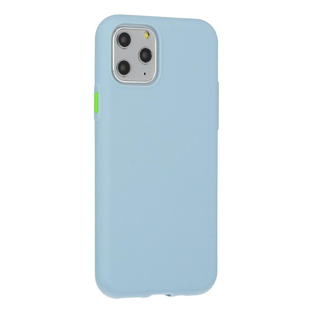 Pokrowiec Solid Silicone Case niebieski Samsung Galaxy S7 Edge / 3