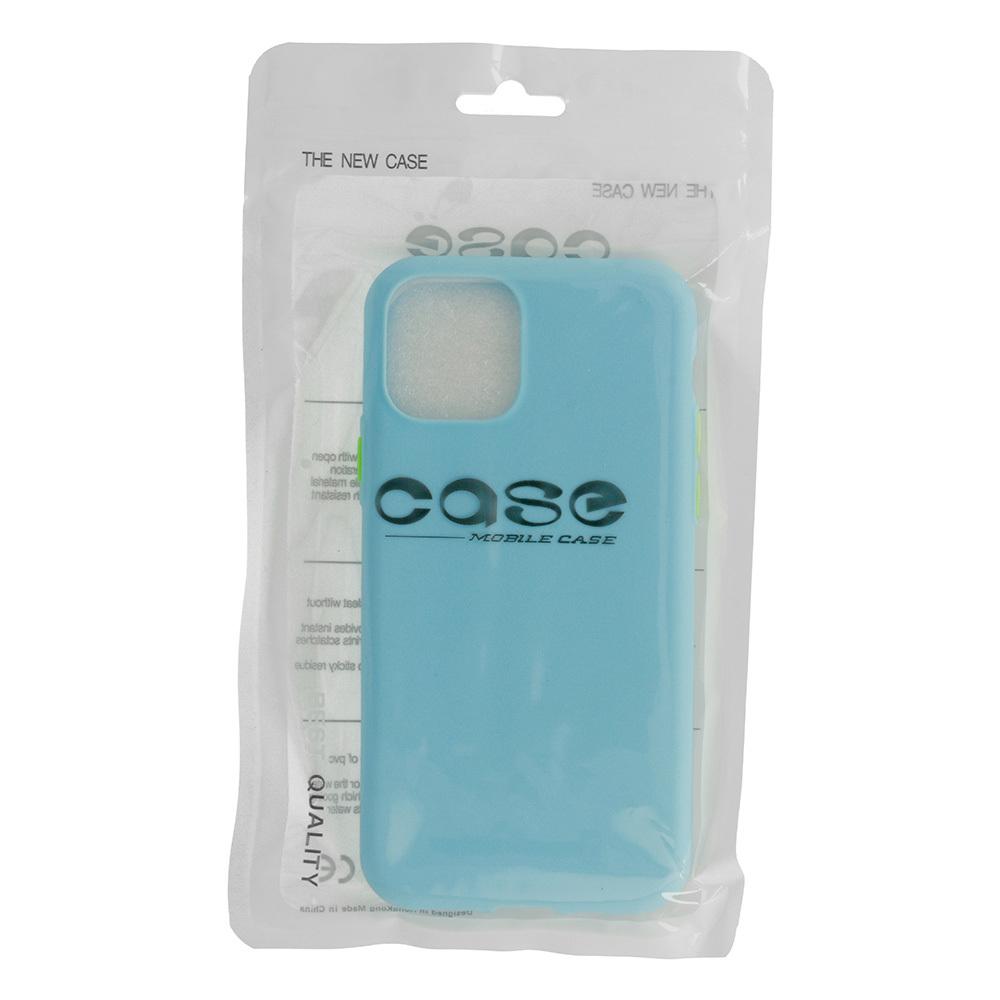 Pokrowiec Solid Silicone Case niebieski Samsung Galaxy S7 Edge / 4