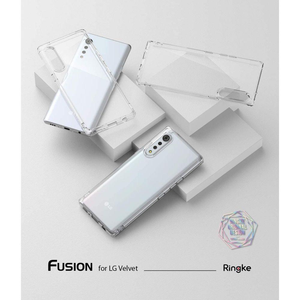 Ringke Fusion Przeźroczyste LG Velvet / 4