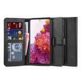 etui z klapką Tech-protect Wallet 2 Czarne do Samsung Galaxy S20 FE