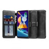 etui z klapką Tech-protect Wallet Czarne do Samsung Galaxy M11