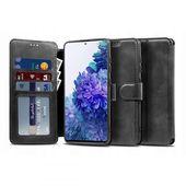 etui z klapką Tech-protect Wallet Czarne do Samsung Galaxy S20 FE