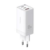 Mcdodo ładowarka sieciowa GaN 3USB USB-A/ 2xPD USB-C 65W biała CH-7920