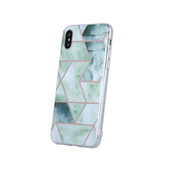 Nakładka Geometric Marmur zielona do Samsung S20 Plus
