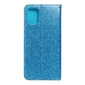 Pokrowiec brokatowy Shining Book niebieski do Samsung Galaxy A71