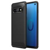 Pokrowiec Carbon Case czarny do Samsung Galaxy S10 Plus