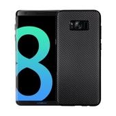 Pokrowiec Carbon Fiber czarny do Samsung Galaxy S8 Plus