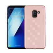 Pokrowiec Carbon Fiber różowy do Samsung Galaxy S7