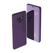 Pokrowiec clear view cover fioletowy do Samsung Galaxy M21
