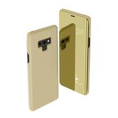 Pokrowiec clear view cover złoty do Samsung Galaxy Note 10 Lite