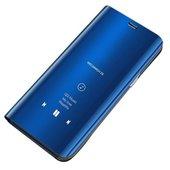 Pokrowiec Clear View niebieski do Huawei P30 Lite