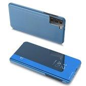 Pokrowiec Clear View niebieski do Samsung Galaxy S21 5G