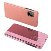 Pokrowiec Clear View różowy do Samsung Galaxy A71