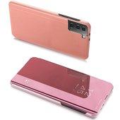 Pokrowiec Clear View różowy do Samsung Galaxy S21 5G
