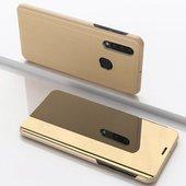 Pokrowiec Clear View złoty do Samsung Galaxy A50
