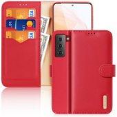 Pokrowiec Dux Ducis Hivo czerwony do Samsung Galaxy S21 5G