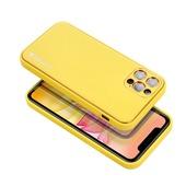 Pokrowiec Forcell Leather Case żółty do Samsung Galaxy S20 FE