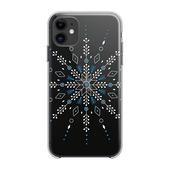 Pokrowiec Forcell Winter 20-21 wzór śnieżynka do Samsung Galaxy S20
