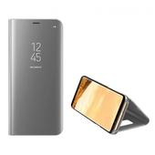 Pokrowiec inteligentny Clear View srebrny do Samsung Galaxy S10