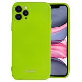 Pokrowiec Jelly Case limonkowy do Samsung Galaxy M21