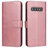 Pokrowiec Magnet Fancy Case różowy do Samsung Galaxy S10 Plus