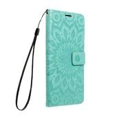 Pokrowiec Mezzo Book Mandala zielony do Samsung Galaxy S20 FE 5G