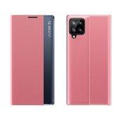 Pokrowiec New Sleep Case różowy do Samsung A12