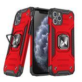 Pokrowiec Wozinsky Ring Armor pancerny czerwony do Samsung Galaxy A71