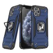 Pokrowiec Wozinsky Ring Armor pancerny niebieski do Samsung Galaxy S20